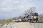 NS 8091 On NS M77 Eastbound