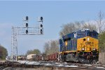 CSXT 3390 On CSX J 783 Southbound Working New River Yard