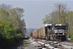 NS 6951 On NS 288 Westbound