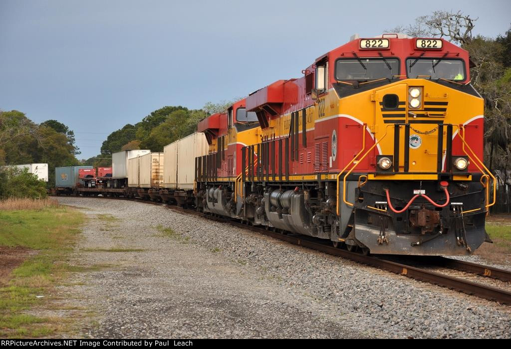 Northbound intermodal 226