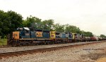 SB CSX Manifest Off The Henderson Sub