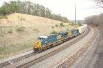 CSX 841 leading Q217