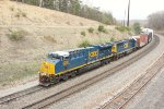 CSX 3305 and 2491