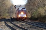 NJ Transit Train Number 853 Approaching Lake Hopatcong