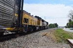 UPY switcher trails on UP 5893 South