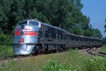 CB&Q 9911A, Silver Pilot and the Nebraska Zephyr, on the CNW