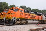 BNSF 9015, EMD SD70ACe, at Gibson Yard