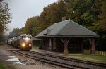 DL 3643 leads PT98 past the old Lackawana depot