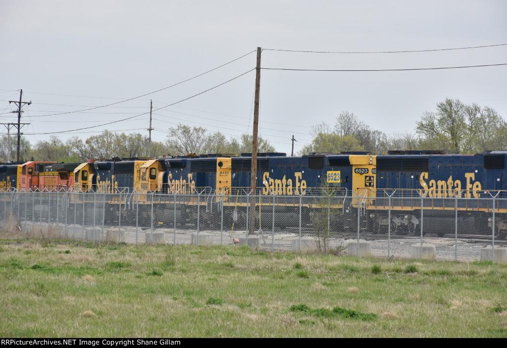 GN 6484 Ex Santa Fe Sd45.
