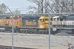 GN 6308 sits in the yard at Topeka Ks.