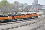 BNSF 6604 and 6621 Roster Shots