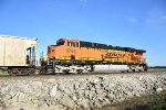 BNSF 5784 Dpu on a empty coal.