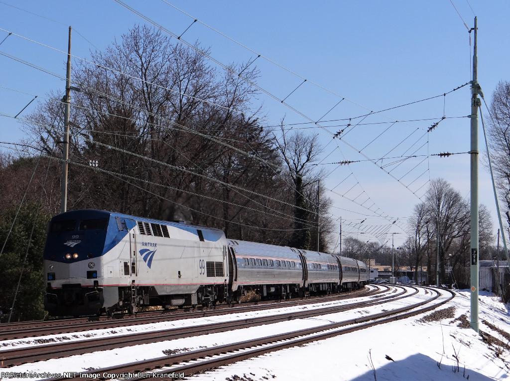"""Amtrak's """"The Pennsylvanian"""" #43"""