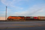 BNSF 3949 and FXE 4061