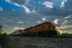 BNSF 8085 eastbound BNSF intermodal train