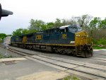 CSX 384 and 161
