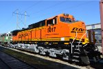 BNSF 5017  fresh painted at MAC