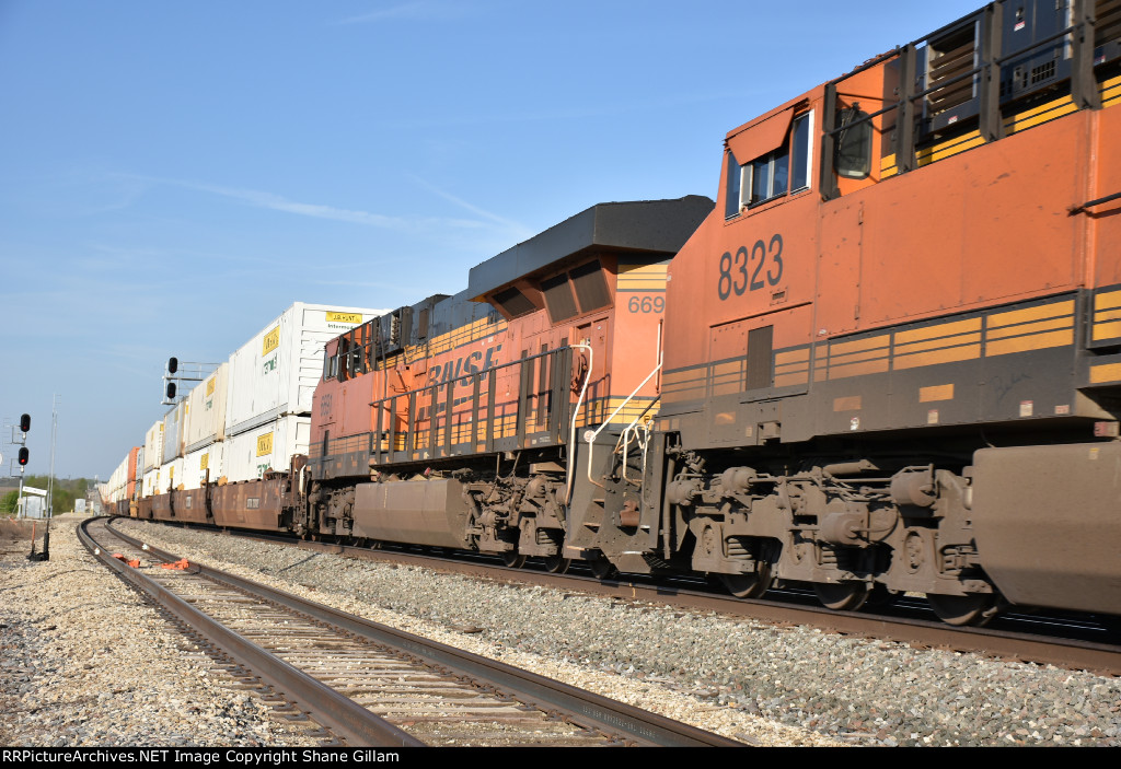 BNSF 6691 Roster.