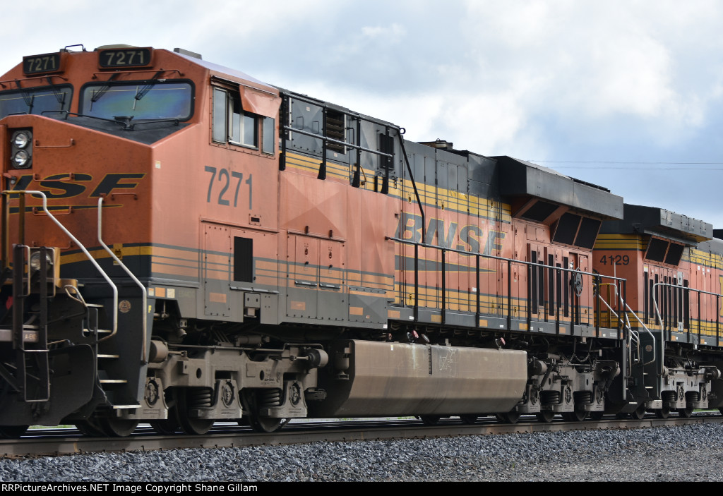 BNSF 7271 Roster.