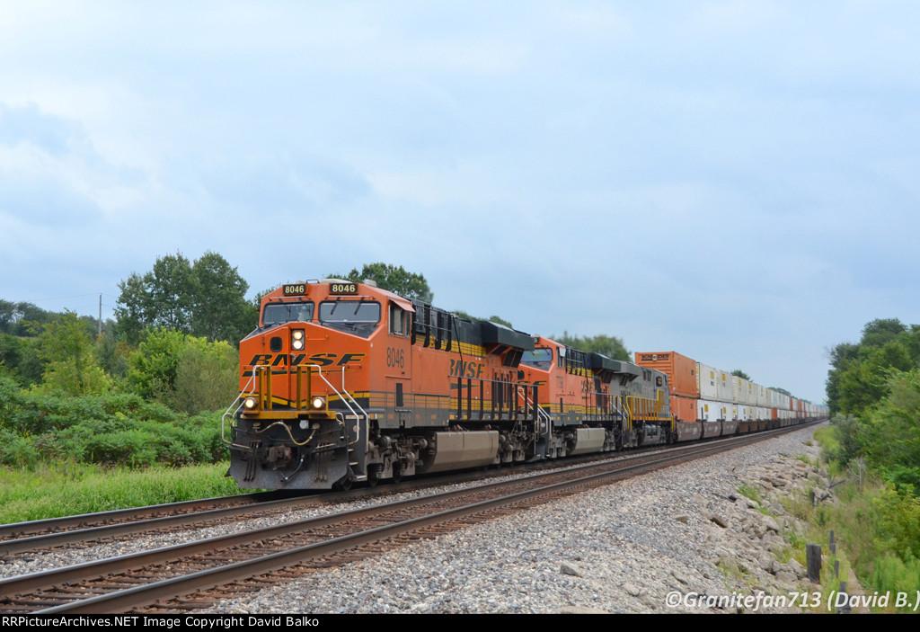 BNSF 8046