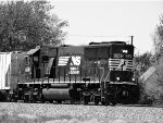 NS 6341 eastbound BW