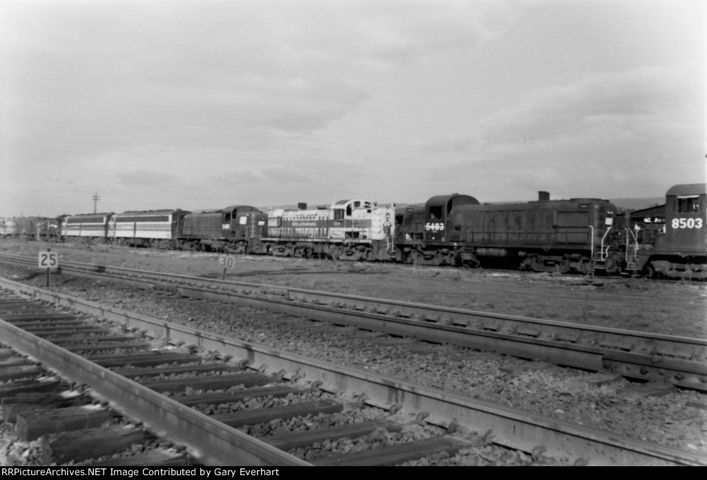 Another section of the Conrail Scrap Line
