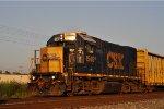 CSXT 1545 On CSX Y 201 Northbound