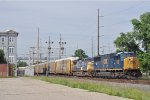NS 7247 On NS 143 Eastbound Elephant Style By The Rail Park