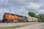 BNSF 6652 On CSX Q 231 Eastbound