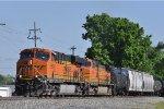 BNSF 6619 On CSX Q 501 Eastbound