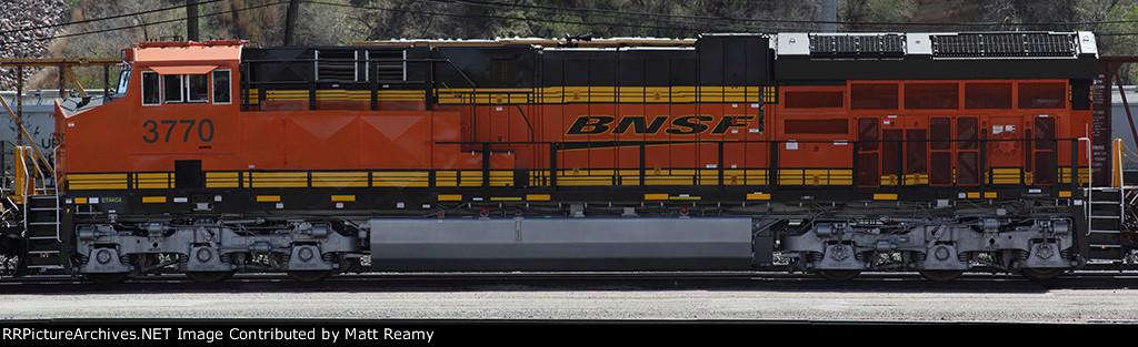 BNSF 3770