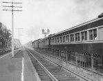 Erie passenger train #55 leaving Ridgewood, NJ