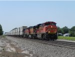 BNSF 8757 (EMD SD70ACe) leads BNSF Q-STOCHC