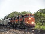 BNSF 8278 (GE ES44C4) leads Z-Train