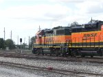 BNSF 2838 leads the BNSF L-RDV191
