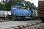 Mystery blue SD40-2