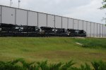 At GE Plant Ft. Worth NS 3603, 3601 & 3602 all ET44AC
