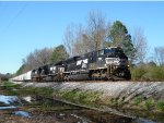 NS SD70M-2 leading 16Z