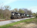 NS SD70M-2 running LHF leads the local westbound