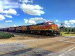 BNSF 4896 Westbound