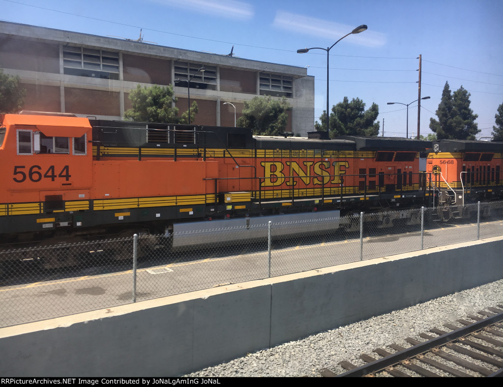 BNSF Units leased by Metrolink
