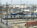 Amtrak locos Sitting near 8th st yard