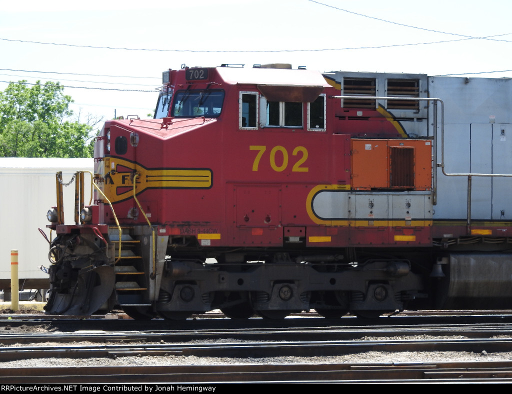 BNSF 702 Sitting In The BNSF Yard