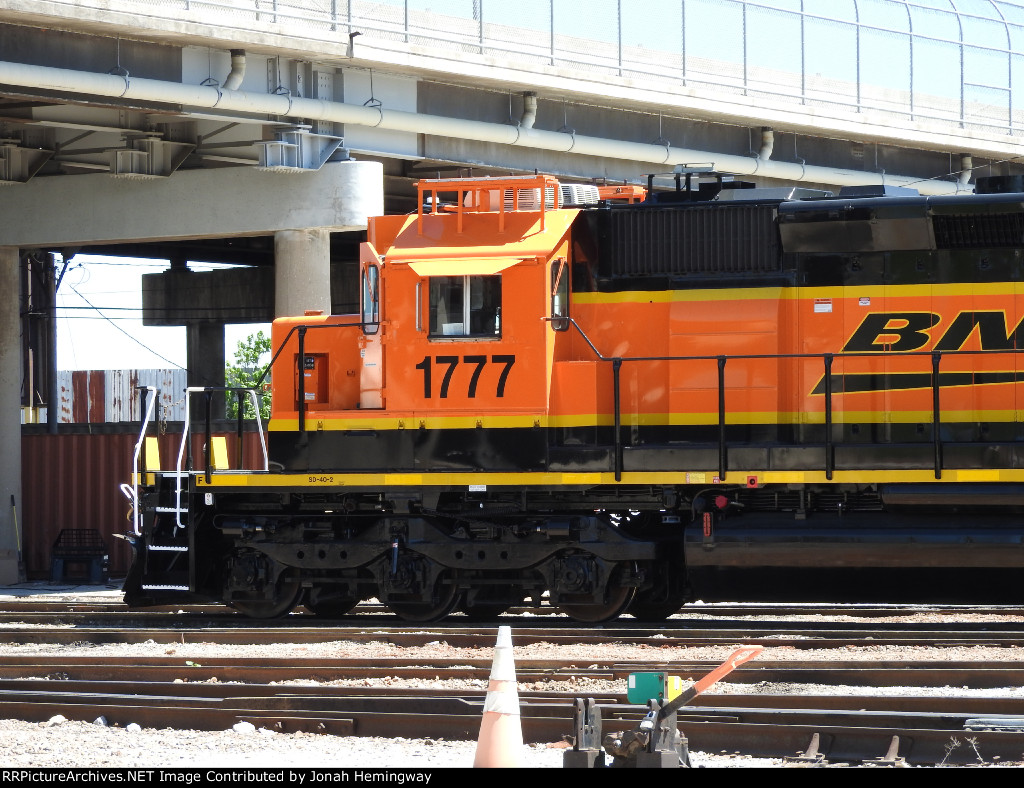 BNSF 1777 With A Fresh Paintjob Sitting In The Service Tracks