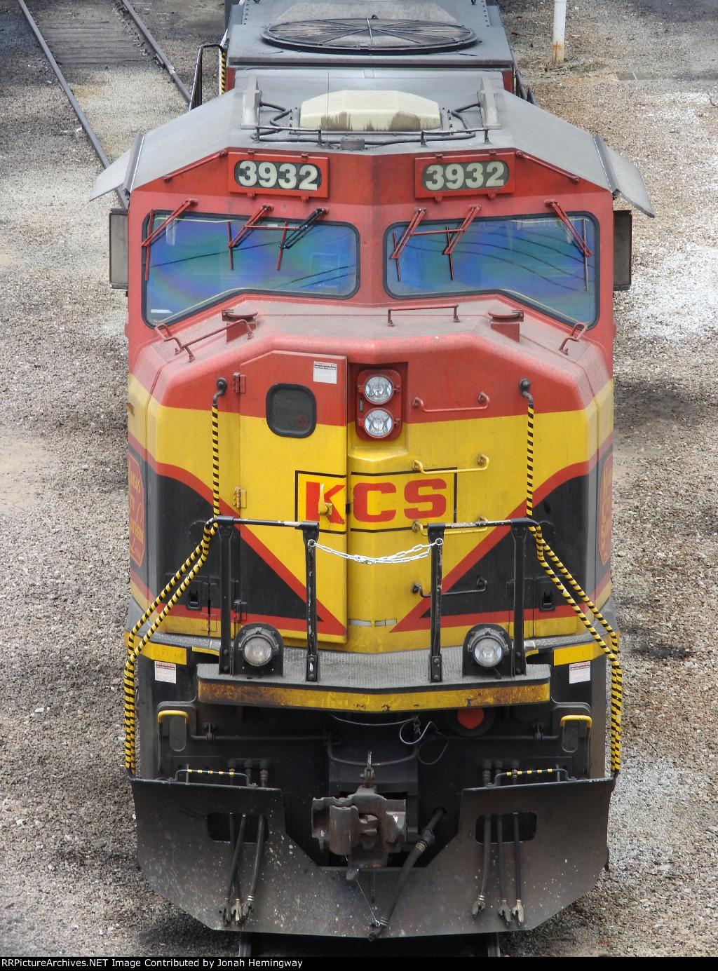KCS 3932 Sitting In The BNSF Yard