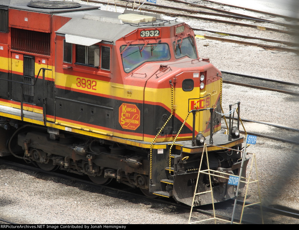 KCS 3932 Sitting In The BNSF Yard