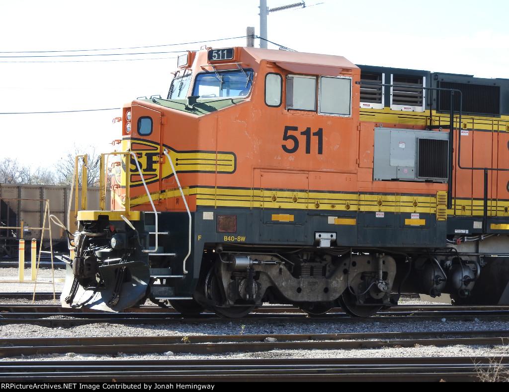BNSF B40-8W No. 511