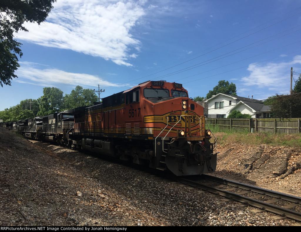 BNSF 5617 Leading An Intermodal