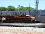 KCS 4144 Trailing On A Coal Train