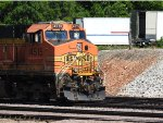 BNSF 4515 Leading A Rock Train